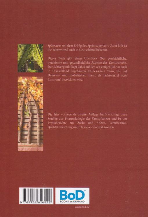 Die Chinesische Yams - Dioscorea batatas - Cover-hinten