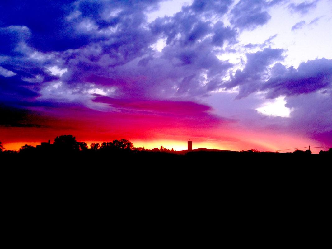 evening atmosphere on GUT HAUSEN
