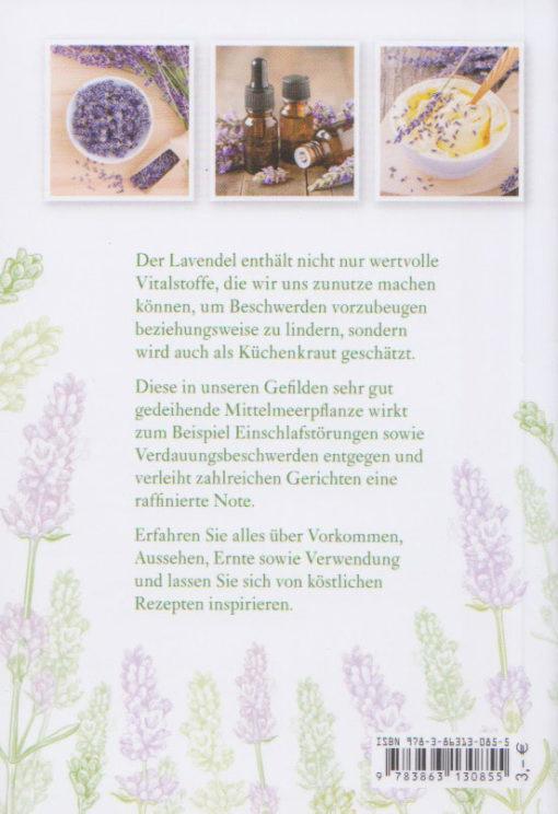 Lavendel - Lavandula angustifolia - Tosa-Verlag - Rückseite