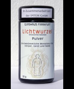 BIO-Lichtwurzel-Pulver GlashausFrankfurt & IMTON GmbH - Mironglas Vorderansicht