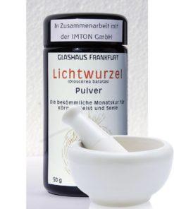 BIO-Lichtwurzel-Pulver handvermahlen - 50g in Zusammenarbeit mit der IMTON GmbH
