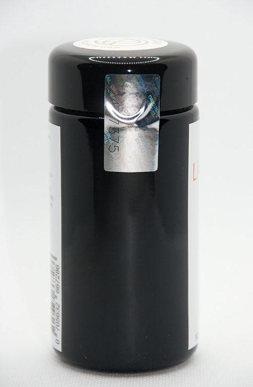 Lichtwurzel-Pulver handvermahlen in Zusammenarbeit mit dem Andreashof - Rückansicht