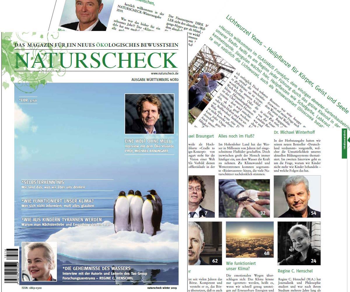 Magazin für ein neues ökologische Bewußtsein