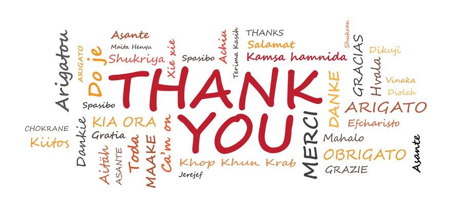 Danke in allen Sprachen - ©JJAVA - stock.adobe.com