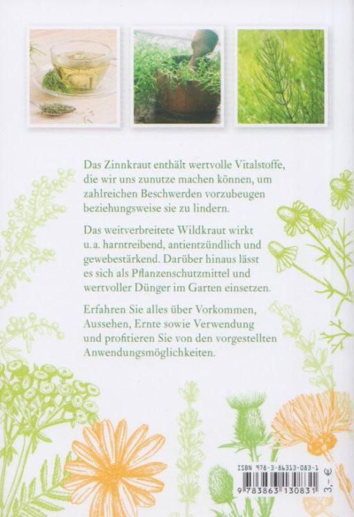 Zinnkraut - Equisetum arvense - Tosa-Verlag - Rückseite