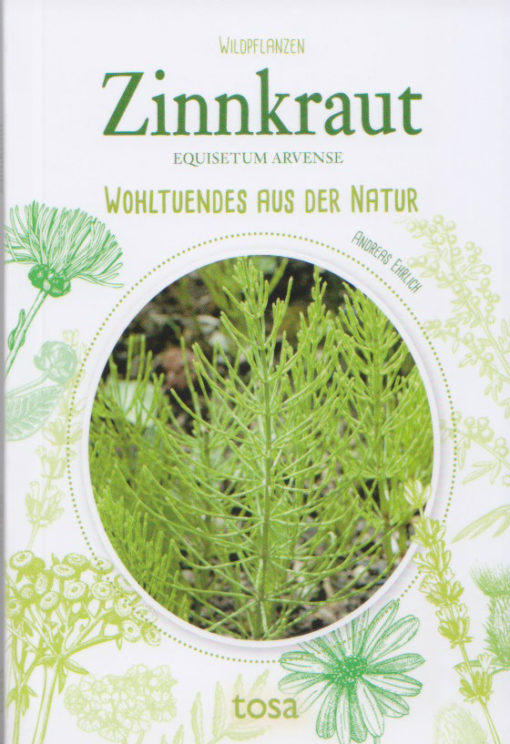 Zinnkraut - Equisetum arvense - Tosa-Verlag - Vorderseite